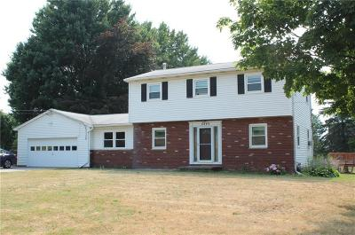 Single Family Home A-Active: 4445 Canandaigua Road