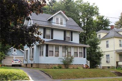 Jamestown NY Single Family Home A-Active: $56,500