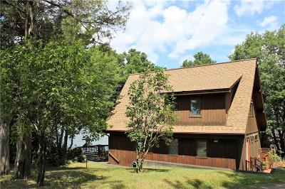Single Family Home A-Active: 11995 East Lake Road