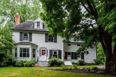 Monroe County Single Family Home A-Active: 597 Mendon Center Road