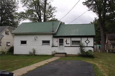 Chautauqua County Single Family Home Sold: 2428 Vukote Road