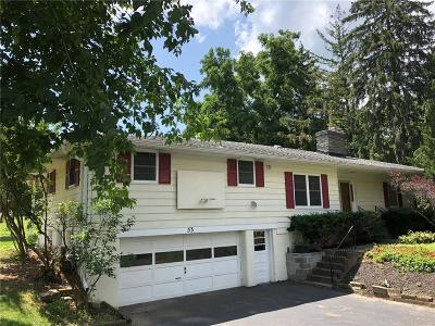 Pittsford Single Family Home U-Under Contract: 53 Knickerbocker Road