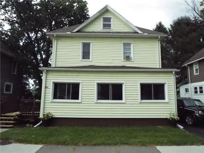 Allegany County, Cattaraugus County Single Family Home A-Active: 806 North Union Street