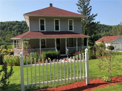 Allegany County, Cattaraugus County Single Family Home A-Active: 11195 State Route 70 Highway
