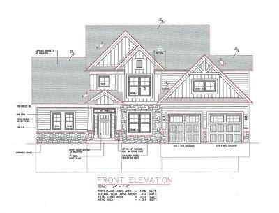 Monroe County Single Family Home A-Active: Lot 1 Forest Ridge Trail