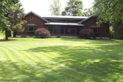 Orleans County Single Family Home A-Active: 15250 McNamar Road