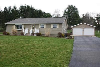 Olean-Town NY Single Family Home A-Active: $129,900