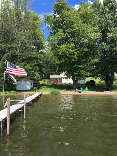 Bemus Point Single Family Home A-Active: 3855 Route 430