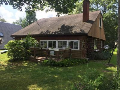 Allegany County, Cattaraugus County Single Family Home A-Active: 5096 Amity Lake Road