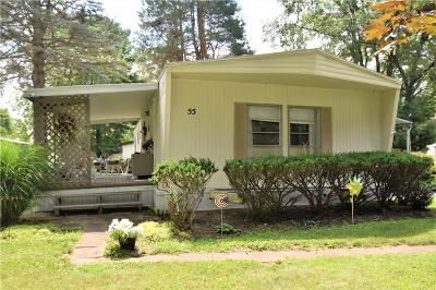 Single Family Home A-Active: 5120 West Lake Road