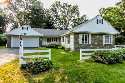 Pittsford Single Family Home A-Active: 86 Washington Road