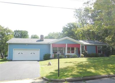 Jamestown NY Single Family Home A-Active: $129,900