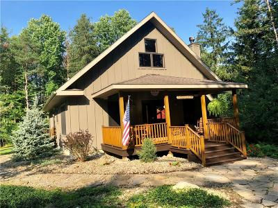 Chautauqua County Single Family Home A-Active: 9025 Spoden Road