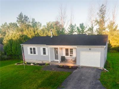 Webster Single Family Home A-Active: 1075 County Line Road