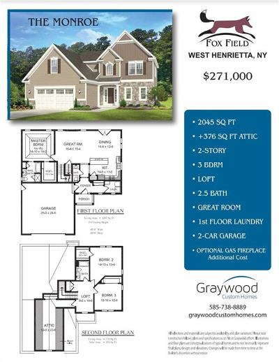 Henrietta Single Family Home A-Active: 164 Mossy Oak Cove