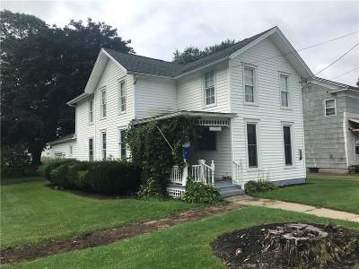 Cohocton NY Single Family Home A-Active: $69,500
