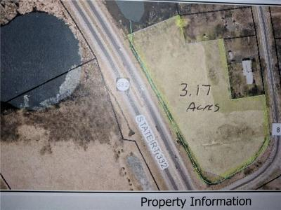 Residential Lots & Land A-Active: State Route 332