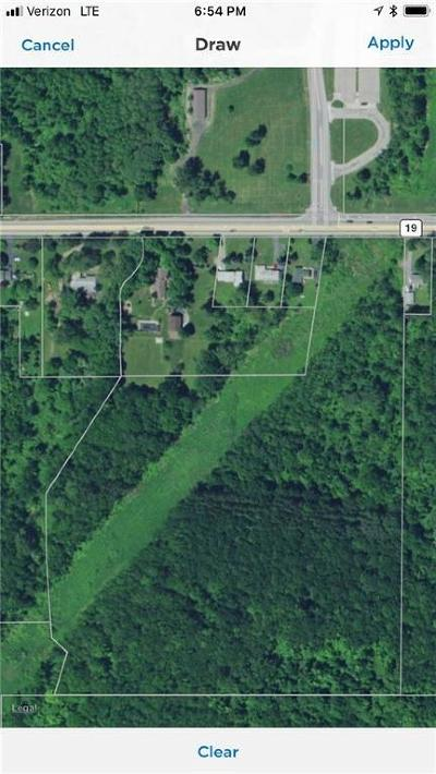 Monroe County Residential Lots & Land A-Active: Fourth Section Road