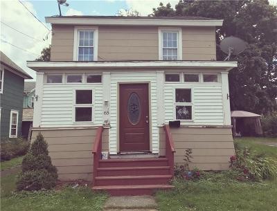 Dunkirk Single Family Home A-Active: 65 West W 3rd