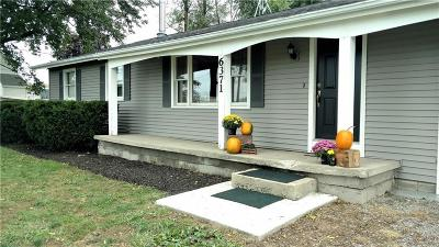 Genesee County Single Family Home U-Under Contract: 6371 Fairground Road