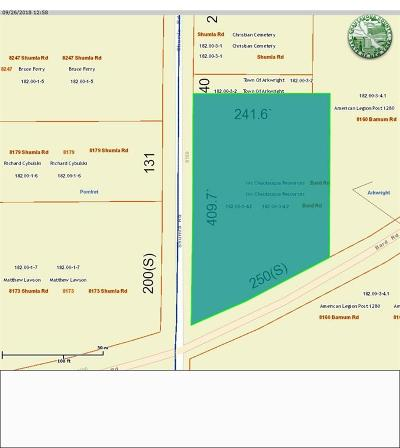 Cassadaga NY Residential Lots & Land A-Active: $8,500