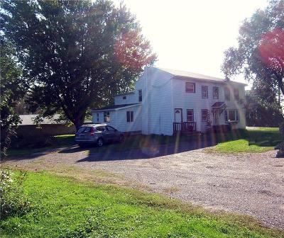 Genesee County Single Family Home A-Active: 6506 East Bethany Leroy Road