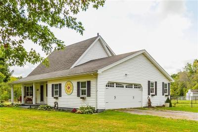 Monroe County Single Family Home A-Active: 6171 Chili Riga Center Road