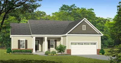 Wayne County Single Family Home For Sale: Lot 4 Holly Creek Drive