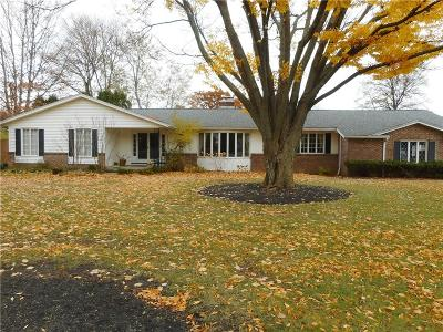 Pittsford Single Family Home A-Active: 2680 Clover Street