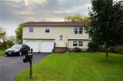 Scottsville NY Single Family Home A-Active: $119,900