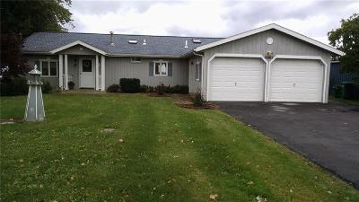 Orleans County Single Family Home A-Active: 16887 Bald Eagle Drive