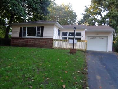 Rochester NY Single Family Home A-Active: $128,500