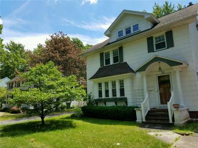 Rochester Single Family Home A-Active: 75 Irvington Road