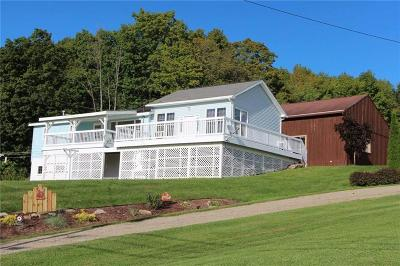 Frewsburg NY Single Family Home A-Active: $115,000