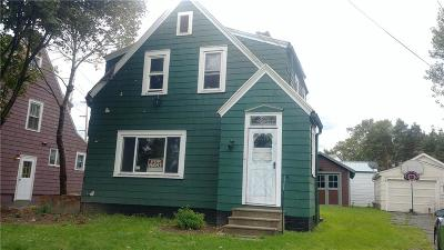 Dunkirk Single Family Home A-Active: 277 Lincoln Avenue