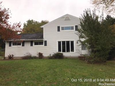 Penfield Single Family Home U-Under Contract: 134 Horizon Drive