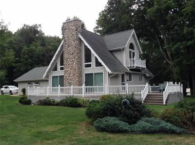 Bemus Point Single Family Home A-Active: 5392 Warner Road