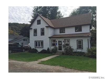 Cohocton NY Single Family Home U-Under Contract: $75,900