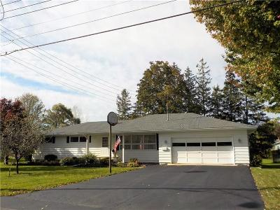 Seneca Falls NY Single Family Home A-Active: $137,500