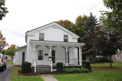 Nunda NY Single Family Home U-Under Contract: $79,900
