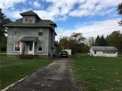 Orleans County Single Family Home U-Under Contract: 318 South Clinton Street