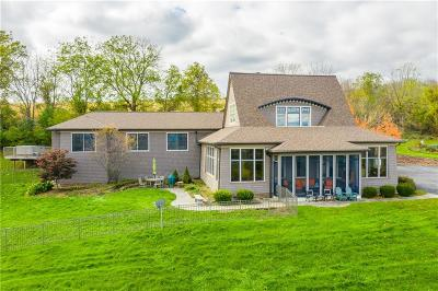 Canandaigua Single Family Home A-Active: 3456 Middle Cheshire Road
