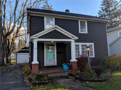 Allegany Single Family Home U-Under Contract: 38 North 5th Street