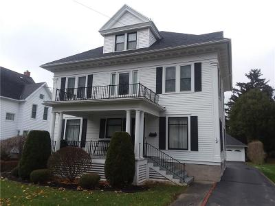 Genesee County Single Family Home A-Active: 47 Ellicott Avenue