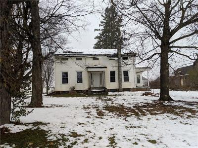 Genesee County Single Family Home A-Active: 6177 Walkers Corner Road