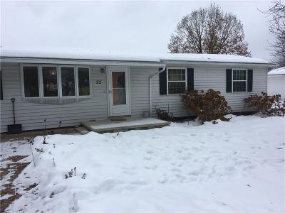 Wayland NY Single Family Home A-Active: $94,999