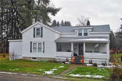 Ashville NY Single Family Home A-Active: $73,500