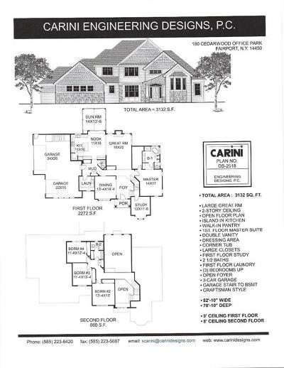 Victor Single Family Home A-Active: 00 Gillis Road Lot #1