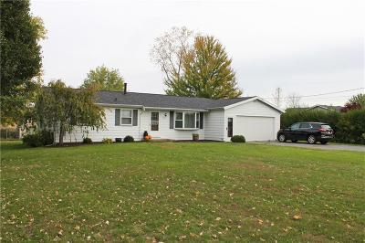 Monroe County Single Family Home A-Active: 798 Hamlin Parma Townline Road