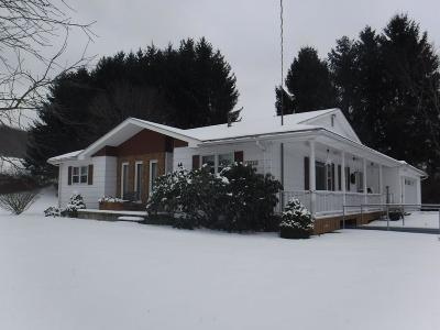 Cattaraugus Single Family Home A-Active: 9545 Beuhlow Hill Road